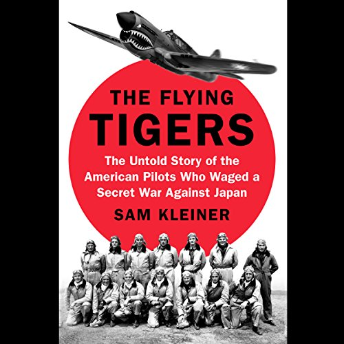 The Flying Tigers audiobook cover art