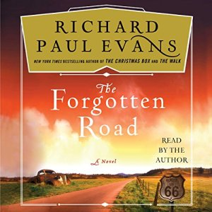 The Forgotten Road audiobook cover art