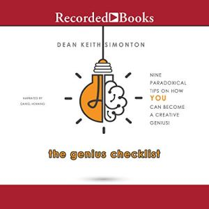 The Genius Checklist audiobook cover art