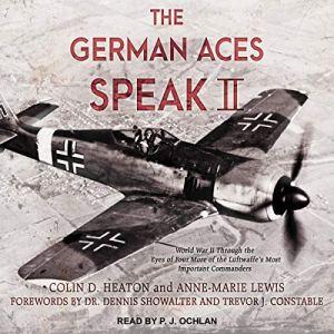 The German Aces Speak II audiobook cover art