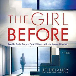 The Girl Before audiobook cover art