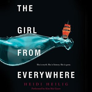 The Girl from Everywhere audiobook cover art