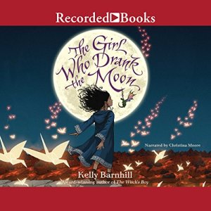 The Girl Who Drank the Moon audiobook cover art