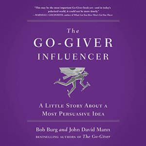 The Go-Giver Influencer audiobook cover art