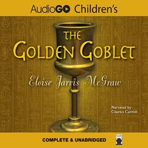 The Golden Goblet audiobook cover art