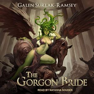 The Gorgon Bride audiobook cover art