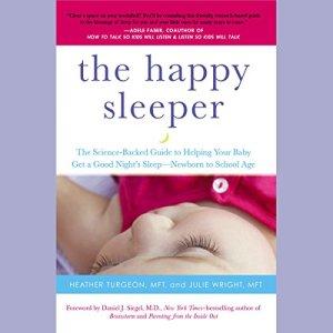 The Happy Sleeper audiobook cover art