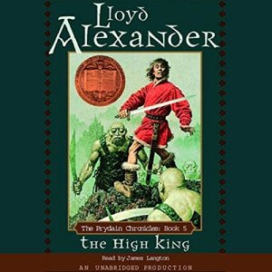 The High King audiobook cover art