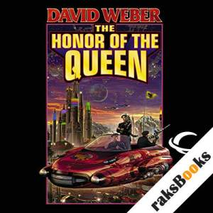 The Honor of the Queen audiobook cover art