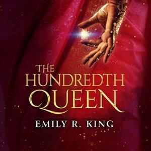 The Hundredth Queen audiobook cover art
