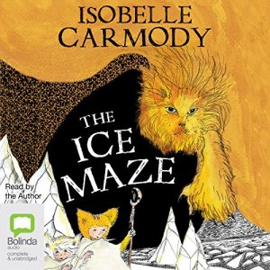 The Ice Maze audiobook cover art