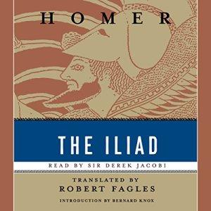 The Iliad audiobook cover art