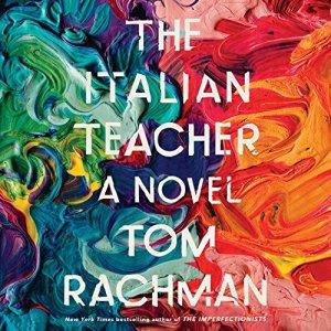 The Italian Teacher audiobook cover art