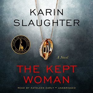 The Kept Woman audiobook cover art