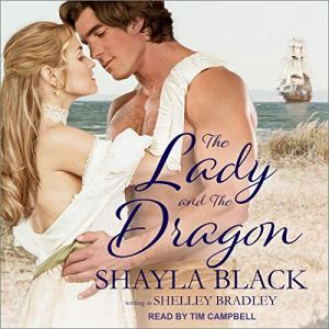 The Lady and the Dragon audiobook cover art