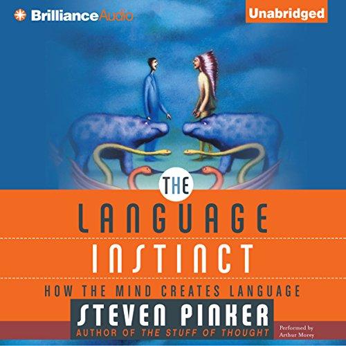 The Language Instinct audiobook cover art