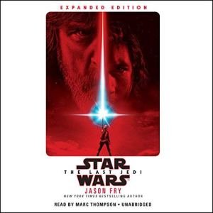 The Last Jedi audiobook cover art