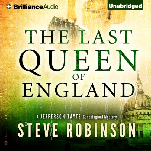 The Last Queen of England audiobook cover art