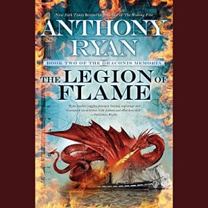 The Legion of Flame audiobook cover art