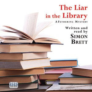 The Liar in the Library audiobook cover art