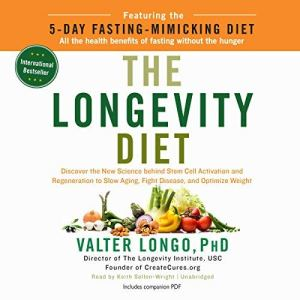 The Longevity Diet audiobook cover art