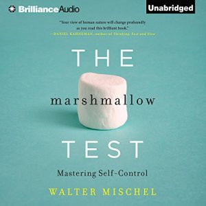 The Marshmallow Test audiobook cover art