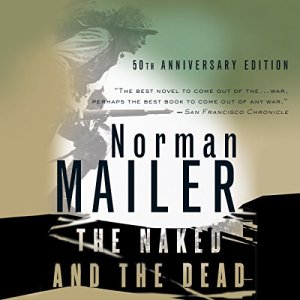 The Naked and the Dead audiobook cover art