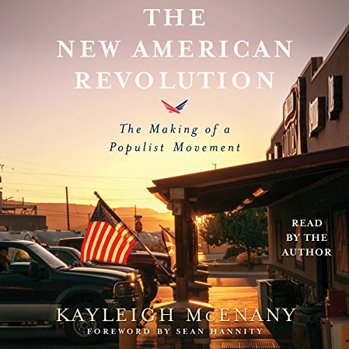 The New American Revolution audiobook cover art