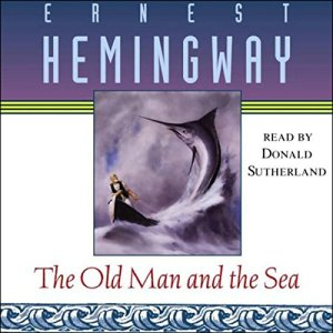 The Old Man and the Sea audiobook cover art