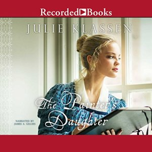 The Painter's Daughter audiobook cover art