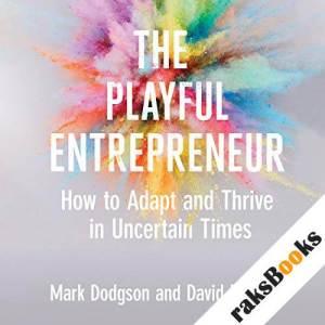 The Playful Entrepreneur audiobook cover art