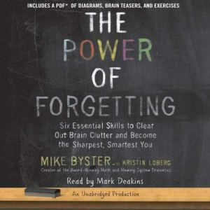 The Power of Forgetting audiobook cover art