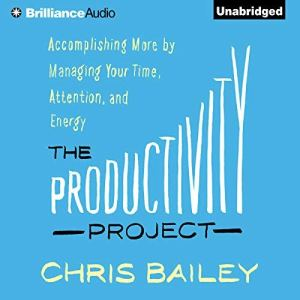 The Productivity Project audiobook cover art