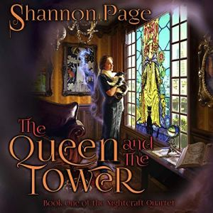The Queen and the Tower  audiobook cover art