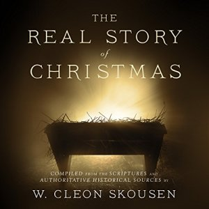 The Real Story of Christmas audiobook cover art