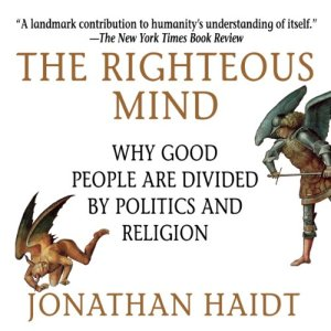 The Righteous Mind audiobook cover art