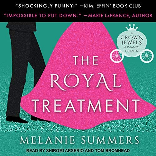 The Royal Treatment audiobook cover art