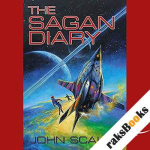 The Sagan Diary  audiobook cover art