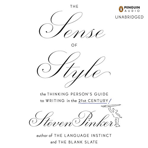 The Sense of Style audiobook cover art