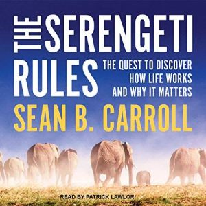 The Serengeti Rules audiobook cover art