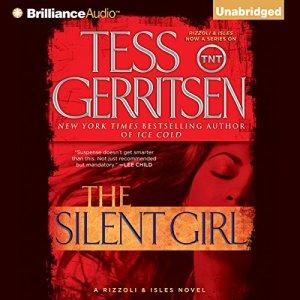 The Silent Girl audiobook cover art