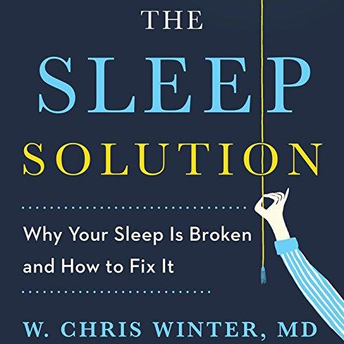 The Sleep Solution audiobook cover art