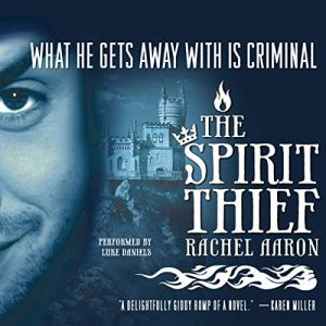 The Spirit Thief audiobook cover art