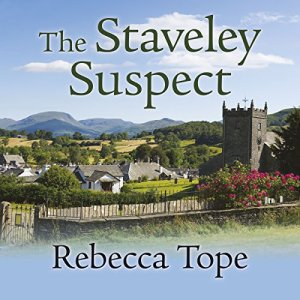 The Staveley Suspect audiobook cover art