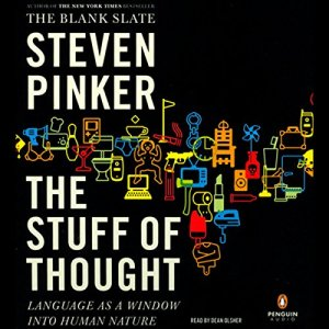The Stuff of Thought audiobook cover art