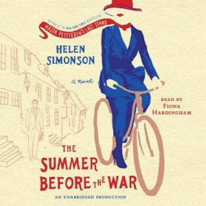 The Summer Before the War audiobook cover art