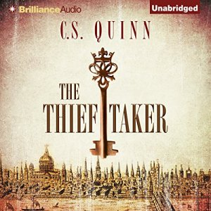 The Thief Taker audiobook cover art