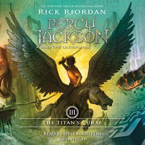 The Titan's Curse audiobook cover art