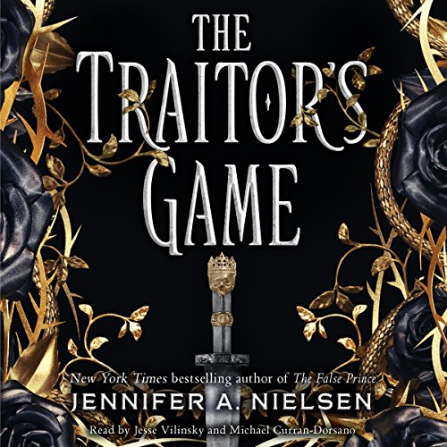 The Traitor's Game audiobook cover art