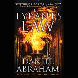 The Tyrant's Law audiobook cover art